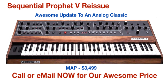 Prophet 5 Re-Issue Image